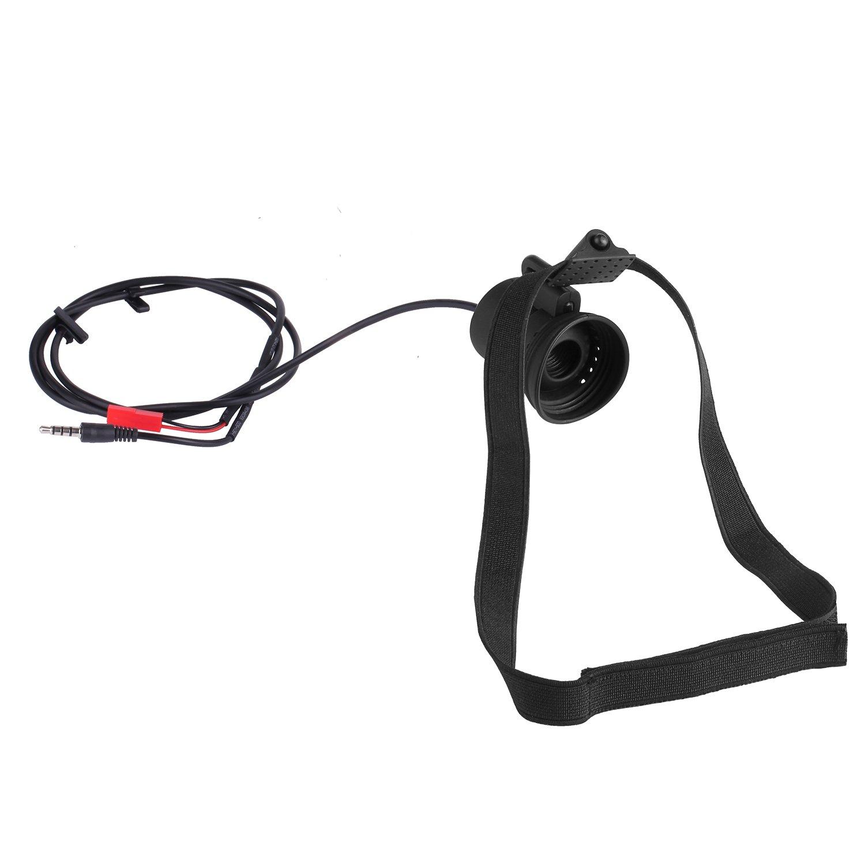 TOOGOO 80 inch Monocular Mini Micro-Display HD Night Vision with Headband Goggles AV ries for FPV Monitor by TOOGOO