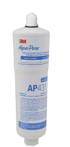 Inhibidor Calentador Escala AquaPure AQUAPURE-AP431 Agua Caliente Filtro