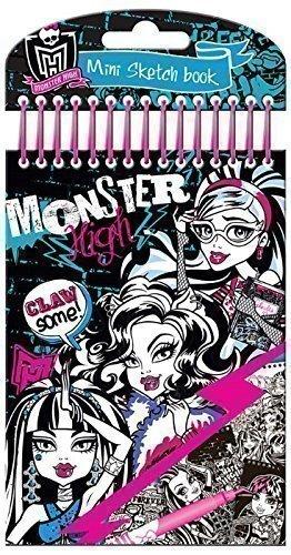 Monster High Libreta de colorear y pegatinas: Amazon.es: Juguetes y juegos