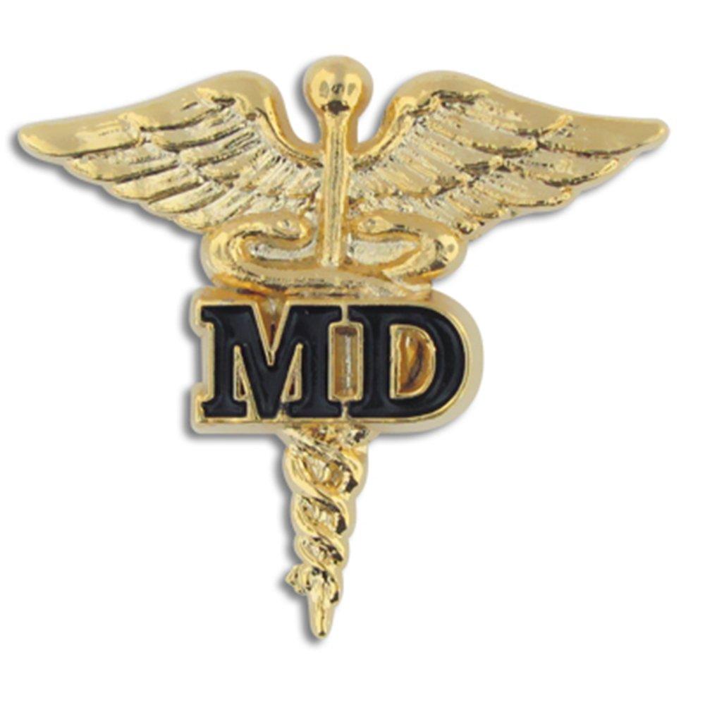 Amazon Prestige Medical Emblem Pin Caduceus Health Personal