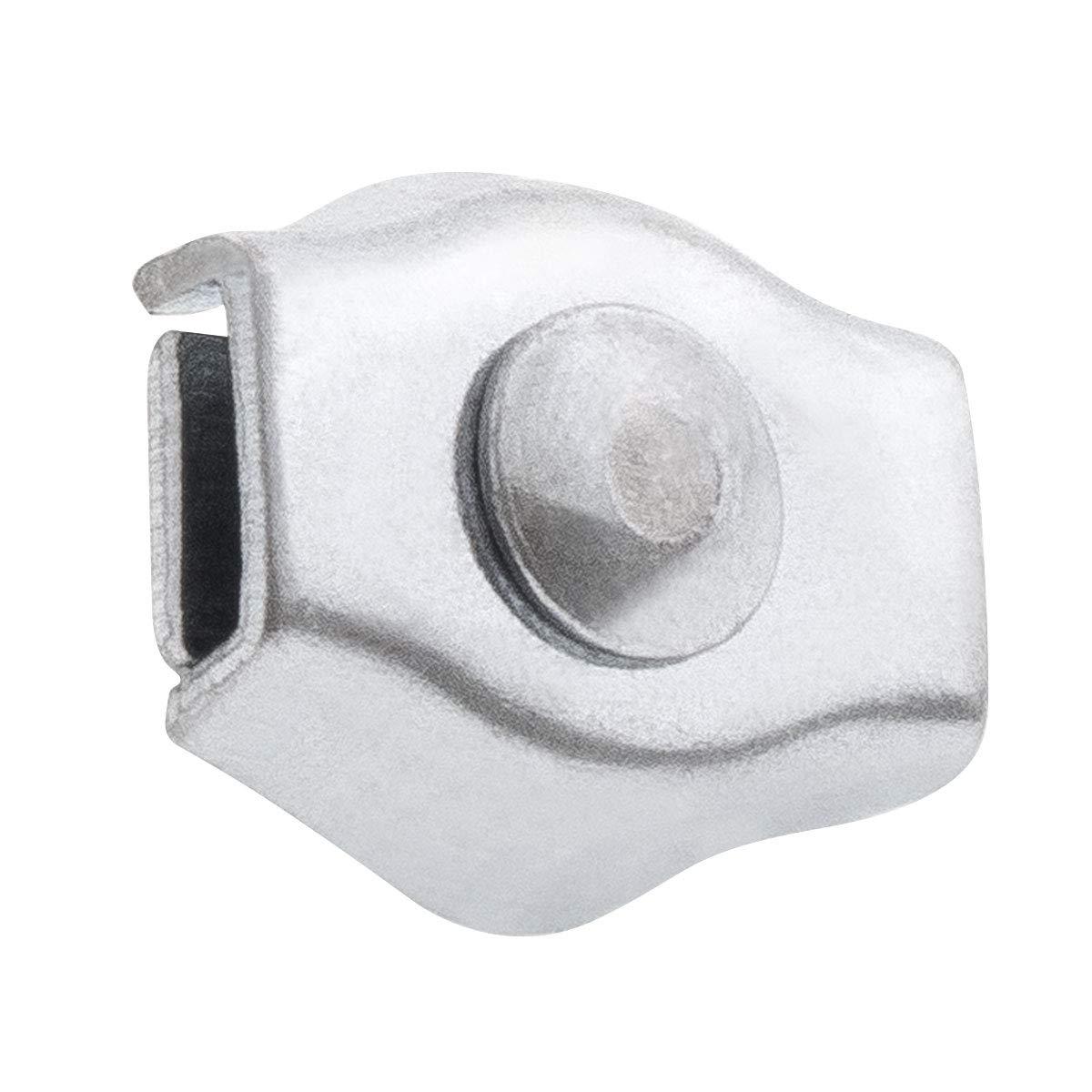 Serre-c/âble pour les Cordes Corde d/'Acier Zingu/é C/âble en acier werk STANKE 10x Serre-c/âble de Selle Simple 6mm Serre-c/âble