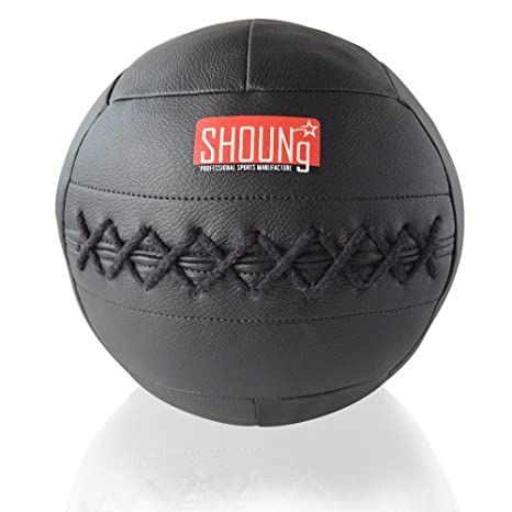 shoung suave balón medicinal/pelota de pared para Crossfit (negro ...