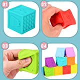 BLLKE Baby Blocks, Soft Building Blocks for