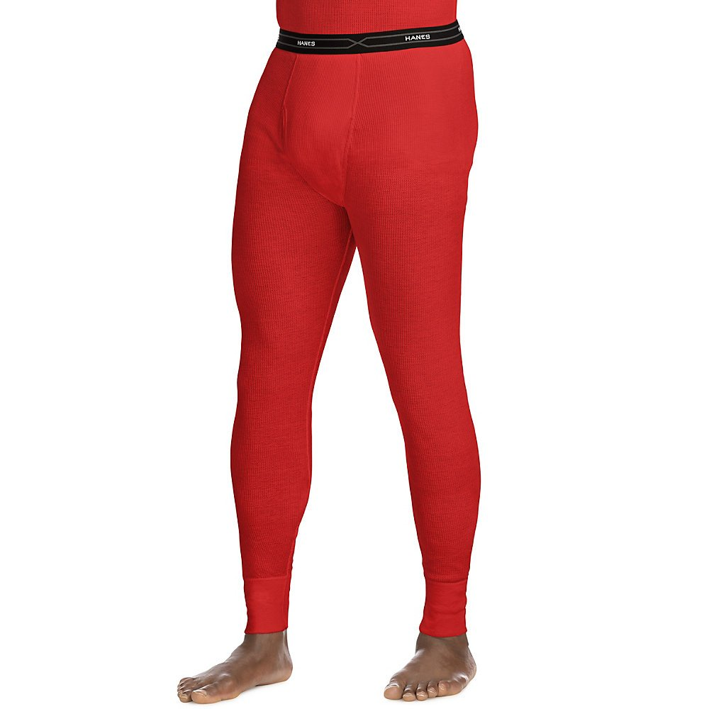 Hanes Mens Red Label X-Temp Thermal Pant