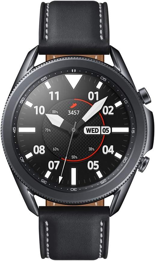 SAMSUNG Galaxy Watch3 - Smartwatch de 45mm, Bluetooth, Reloj inteligente Color Negro, Acero [Versión española] (SM-R840NZKAEUB): Amazon.es: Electrónica