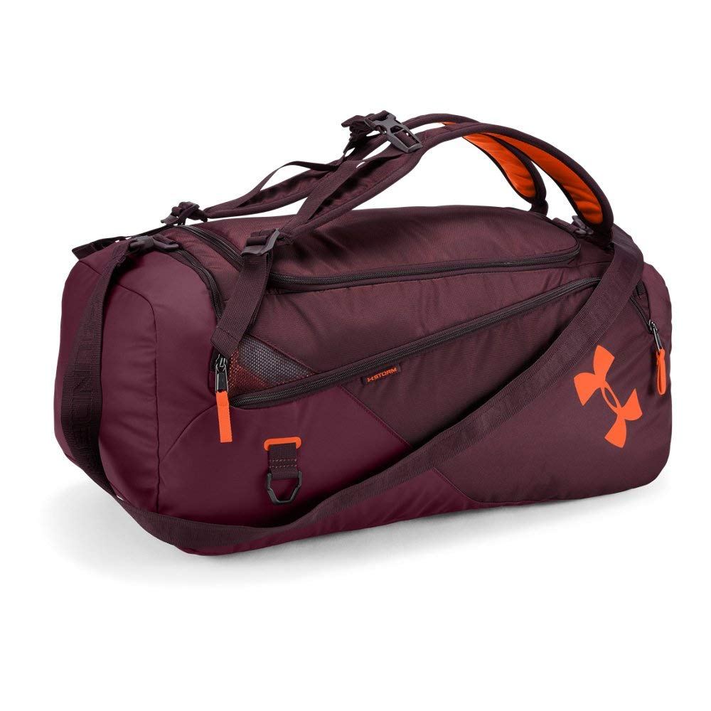 Under Armour Contain 4, Dark Maroon (600)/Magma Orange, One Size