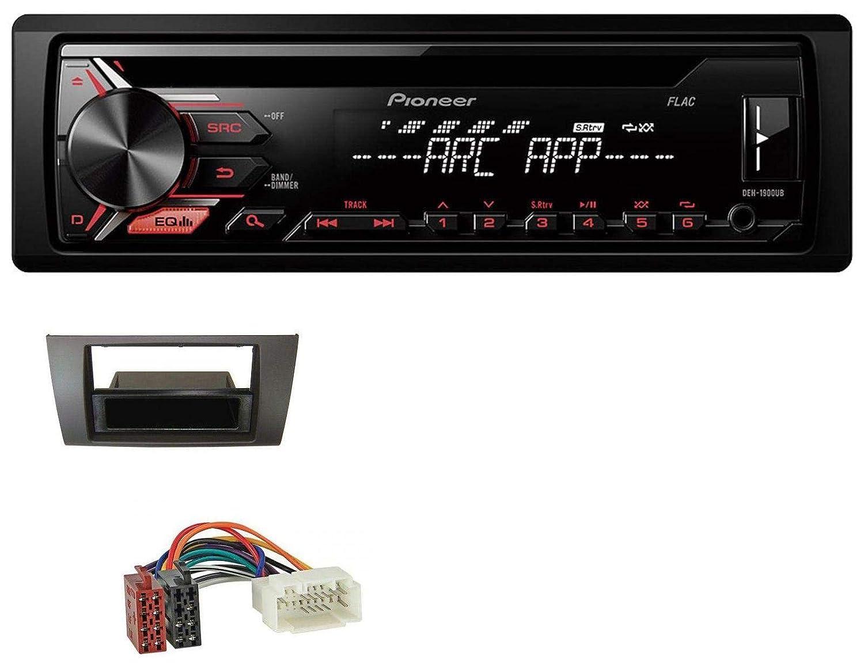 caraudio24 Pioneer DEH-1900UB CD 1DIN Aux MP3 USB Autoradio fü r Suzuki Swift (2006-2010)