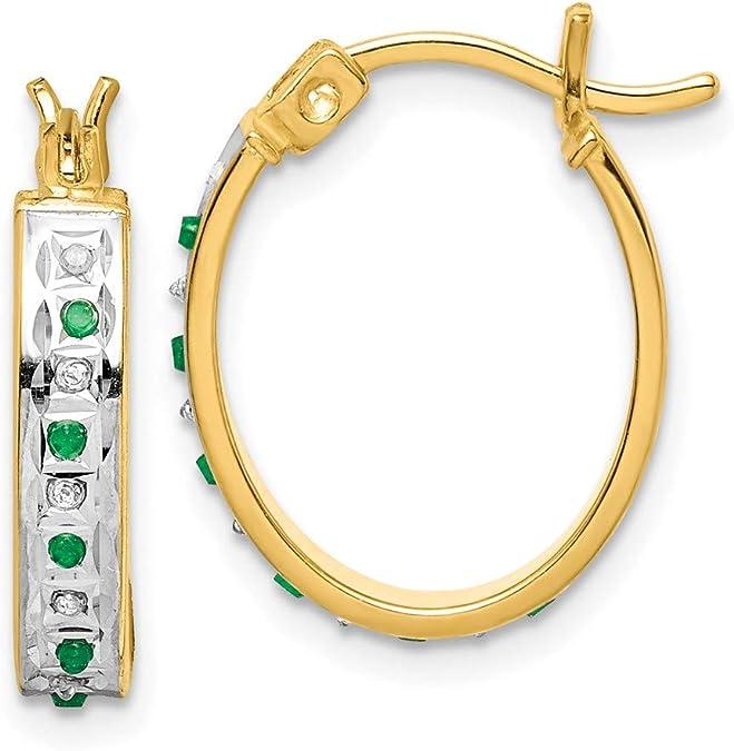 emerald earrings emerald hoops emerald crystal hoops emerald stone hoops may birthstone hoops raw emerald hoop earrings