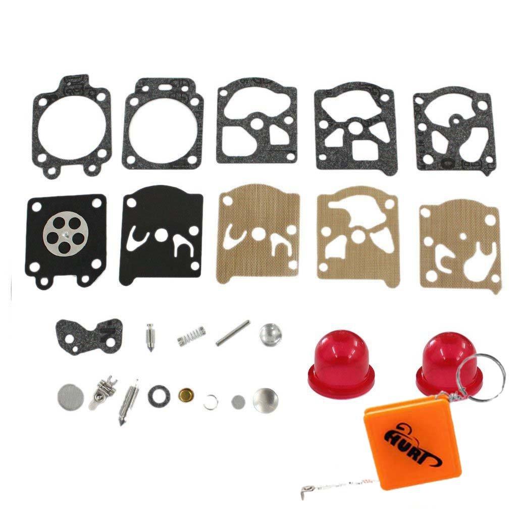 HURI K20-WAT carburatore Kit Membrane guarnizione per McCulloch Trim Ma 210 240 241 250 251 280 281 323S Pro Mac 320.