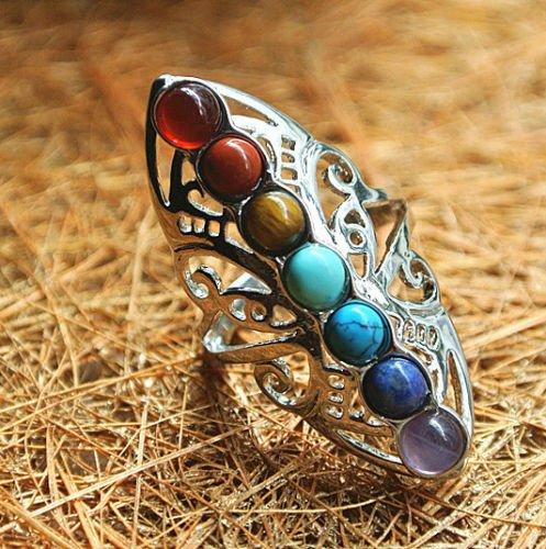 925-silver-healing-hollow-stones-adjustable-7-chakra-ring-thumb-reiki-gem-ring
