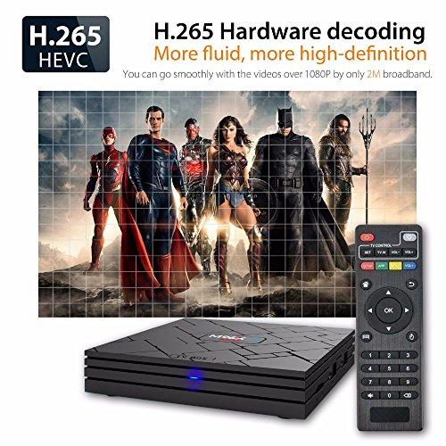 SHENGMO M96X-II MINI Android 7.1 TV BOX S905W Quad core 2GB Ram 16G Rom 5G Dual WIFI Bluetooth 4K H.265 HDMI 2.0 KODI 18 Tv Box by Shengmo (Image #4)