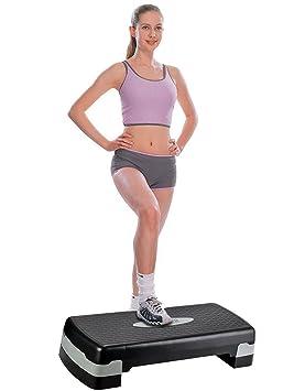 BUSYALL Steps de Aerobic Stepper para Hacer Ejercicios Fitness ...