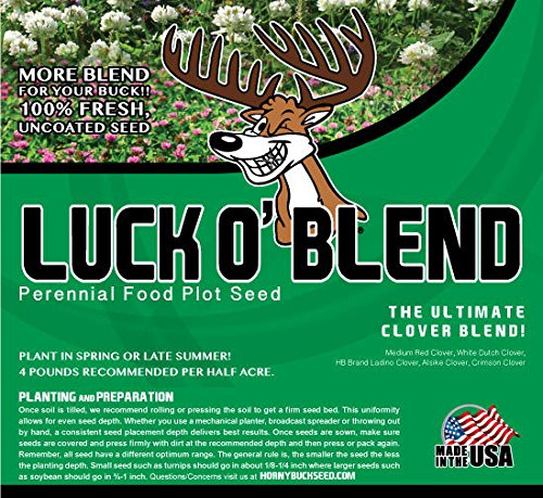 Luck O' Buck - Horny Buck Food Plot Seed