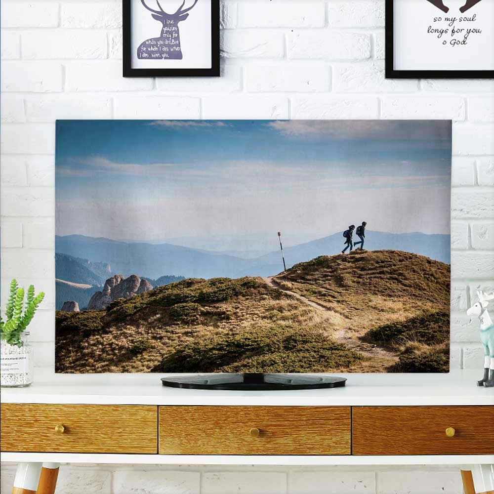 aolankaili Cord Cover for Wall Mounted tv The Meaning of Travel Cover Mounted tv W19 x H30 INCH/TV 32''