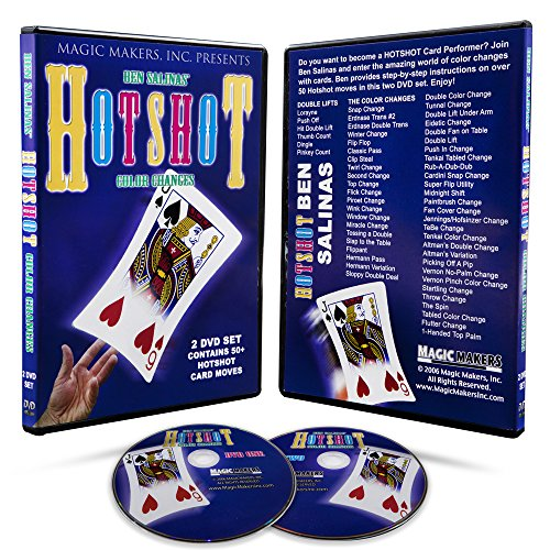 Magic Makers HotShot With Cards - 50 Card Tricks That Are Visually Stunning
