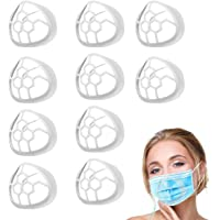 10PCS Silicone Face Mask Bracket,3D Mask Bracket Inner Support Frame for More Breathing Space,Keep Fabric off Mouth,Cool…