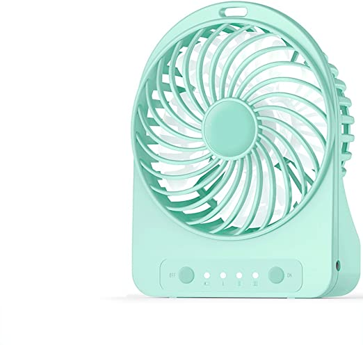 Mini fan Ventilador recargable inalámbrico de escritorio de la ...