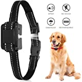 ULTPEAK Anti Bark Collar Stop Dog Barking Collars Risk Free No Shock Bark Collar, Sound Vibration Humane NO Harm Training,Rechargeable Electric Dog Training Collar, No Shock & Safe for All Dogs