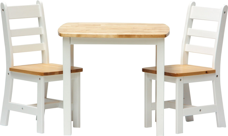 IB-Style - Set di mobili per bambini ILEX | 3 combinazioni | Set composto da tavolo per bambini e 2 sedie
