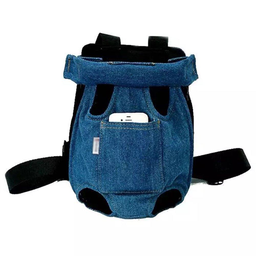 B Medium B Medium XCF WLQ pet chest chest bag cat dog bag out four-foot backpack cat pack back cat bag