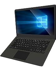PC-Ordinateur Portable Windows-10 14-Pouces Laptop - Winnovo VanBook Intel Atom Quad Core 2 Go de RAM 32 Go de Stockage Resolution de 1920 x 1080 FHD IPS Clavier AZERTY Double Haut-Parleur(Gris Foncé)