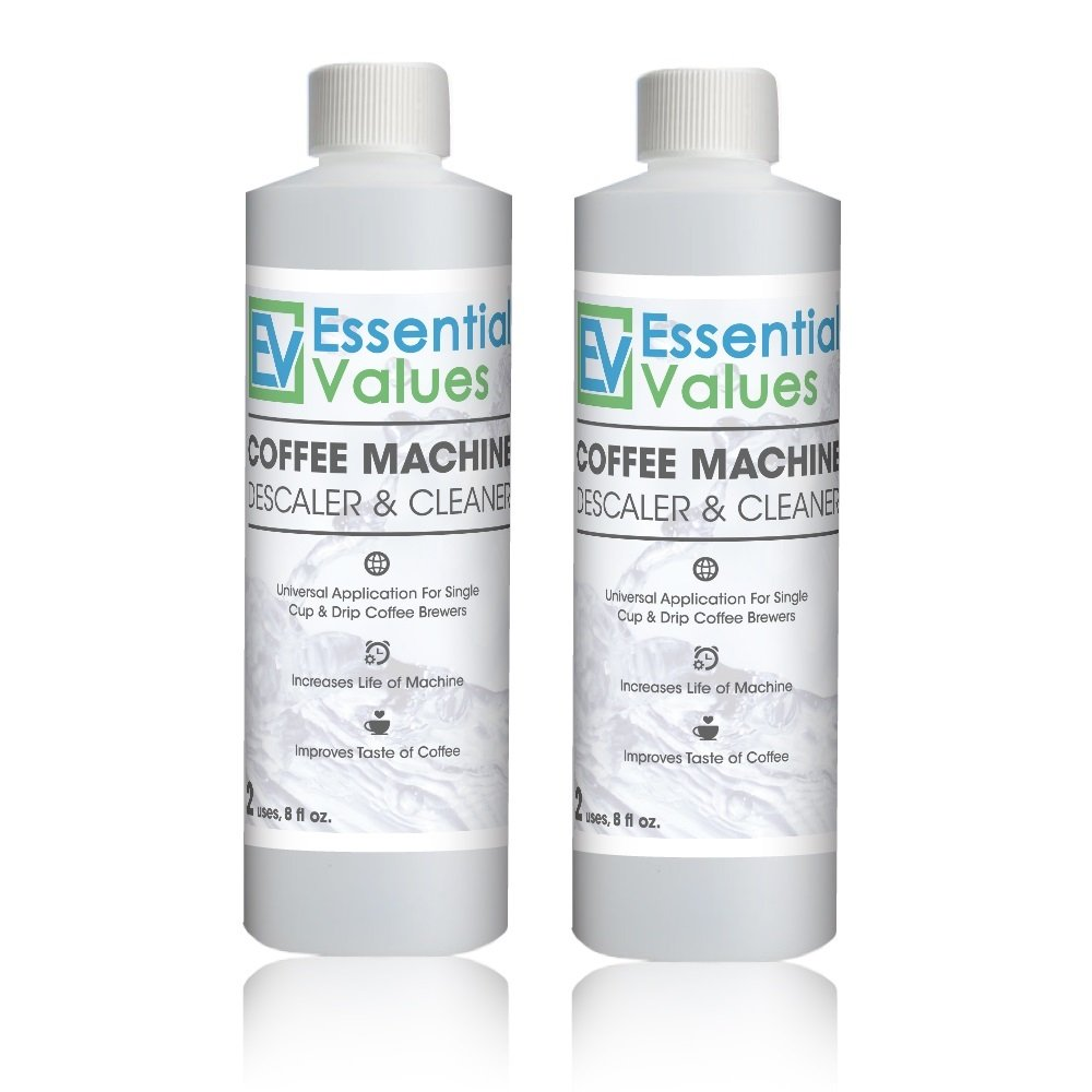 Essential Values Universal Descaler For Espresso and Keurig Coffee Machines, 2 Pack product image
