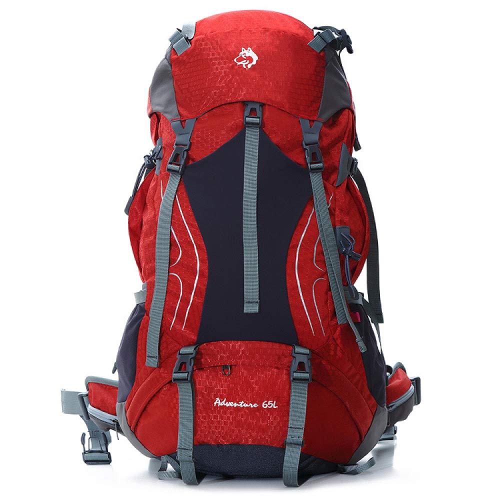 CSPMM Rucksäcke Reisetaschen Outdoor Bergsteigen Tasche Groß Kapazität Langstrecken- Reise Rucksack 65L Laptop-Rucksack