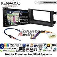 Volunteer Audio Kenwood Excelon DNX694S Double Din Radio Install Kit with GPS Navigation System Android Auto Apple CarPlay Fits 2006-2008 Honda Ridgeline