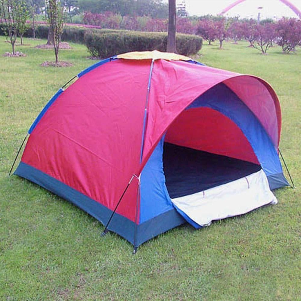 Lxj Outdoor-Zelt wasserdicht Wasserdichte Zelt 3 bis 4 Personen doppelt Zelt Bergsteigen Camping Zelt 200  200  h135cm