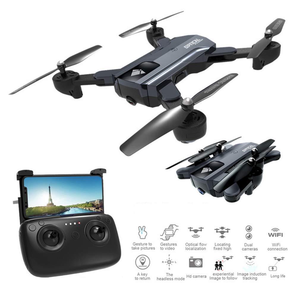 Xianxian88 Faltverständliche FPV-Ferndrohne, 1080P HD-Kamera-Drohne, WiFi-Steuerung GPS-Fixhöhe Smart Follow eine Taste zurück, kopflose Drohnenflugzeuge