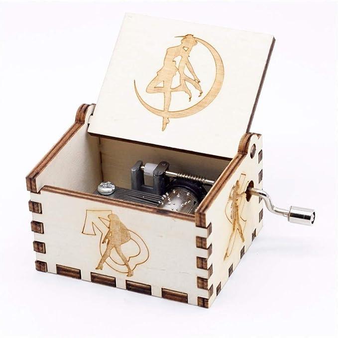 XHGFD Caja de música Sailor Moon Juego de Tronos Tema de música Caja de música Un Regalo de cumpleaños, SD: Amazon.es: Hogar
