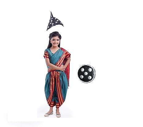 buy fancydresswale maharani laxmi bai fancydress costume for kids