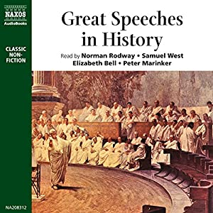 Great Speeches in History Audiobook