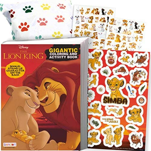 Disney Lion King Coloring Stickers product image