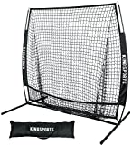 KingSports All Sports Practice Net - Multi Purpose Net for Softball and Baseball Training - 5 feet by 5 feet