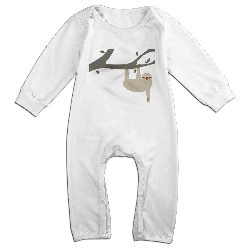 Sloth Climb Tree Baby Onesie Romper Jumpsuit Bodysuits