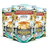 Performance Protein Pancake and Waffle Mix with Whey Protein by Birch Benders, 16 Grams Protein Per Serving, Non-GMO Verified, 48 Ounce (16oz 3-pack)
