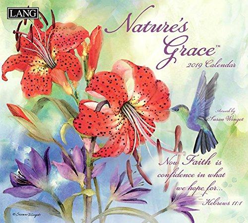 Nature's Grace 2019 Calendar: Bonus Free Download