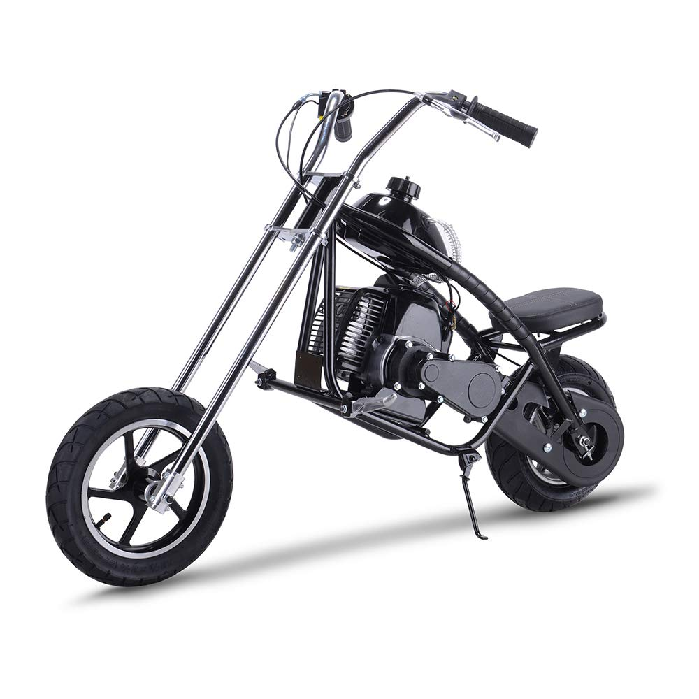 SAY YEAH Gas Bike 49cc 2-Stroke Petrol Motorized Mini Scooter, Adult Super Folding Bicycle, Gas Powered Kids Mini Dirt Bike Motocross Bike, EPA Approved by SAY YEAH