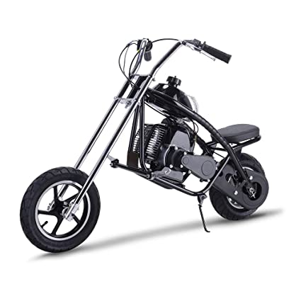 SAY YEAH Gas Scooter Mini Dirt Pit Bike 2 Stroke Kids Mini Chopper,Powerful  49cc EPA Engine Motorized Bike for Boys and Girls,Non California