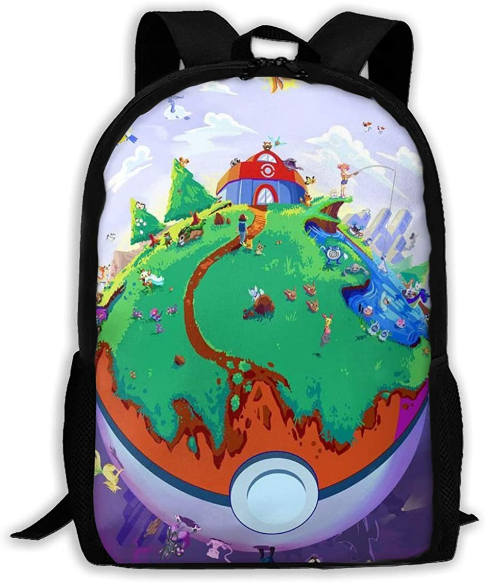 Cartoon Animal 16 Inch Laptop Backpack Travel School Backpack with USB Charging Port for Women Men