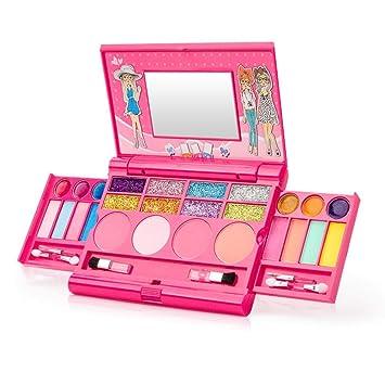 キッズ 化粧 女の子 メイクアップセット メイクアップおもちゃ プリンセスガールズ化粧品 人気 メイクセット 化粧品おもちゃ 子ども用 コスメ玩具  安全 無毒