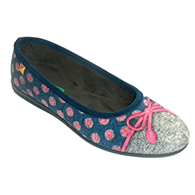 036c25f9ef8 Alberola Shoe be Home manoletina Kind Woman with tie in Blue Size 41 ...
