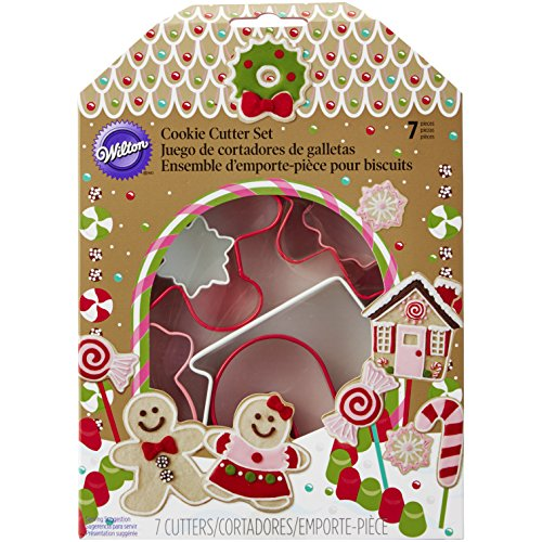Wilton 7-Piece Christmas Cookie Cutter Set