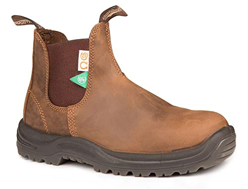9a4ca055d96 Blundstone Unisex CSA Greenpatch Pull-On Boot