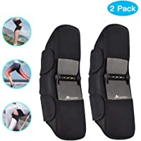 ANCROWN Knee Braces Joint Support, 2020 Upgraded New Power Knee Protection Booster, Stabilizer Pads with 4 Powerful Springs for Men/Women Weak Legs, Running, Hiking, Arthritis, Meniscus Tear, Sports
