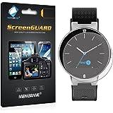 3 x Membrane Protector de Pantalla para Alcatel One Touch Watch - Transparente, Embalaje y accesorios
