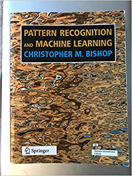 pattern recognition and machine learning bishop