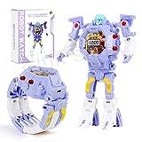 Kids Transformers Toys Purple Watch for Girls