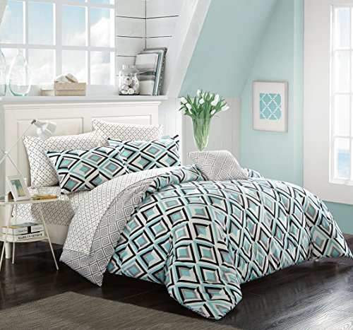 Pop Comforter Set - Pop Shop Rebe Bed in a Bag, Full, Multicolor